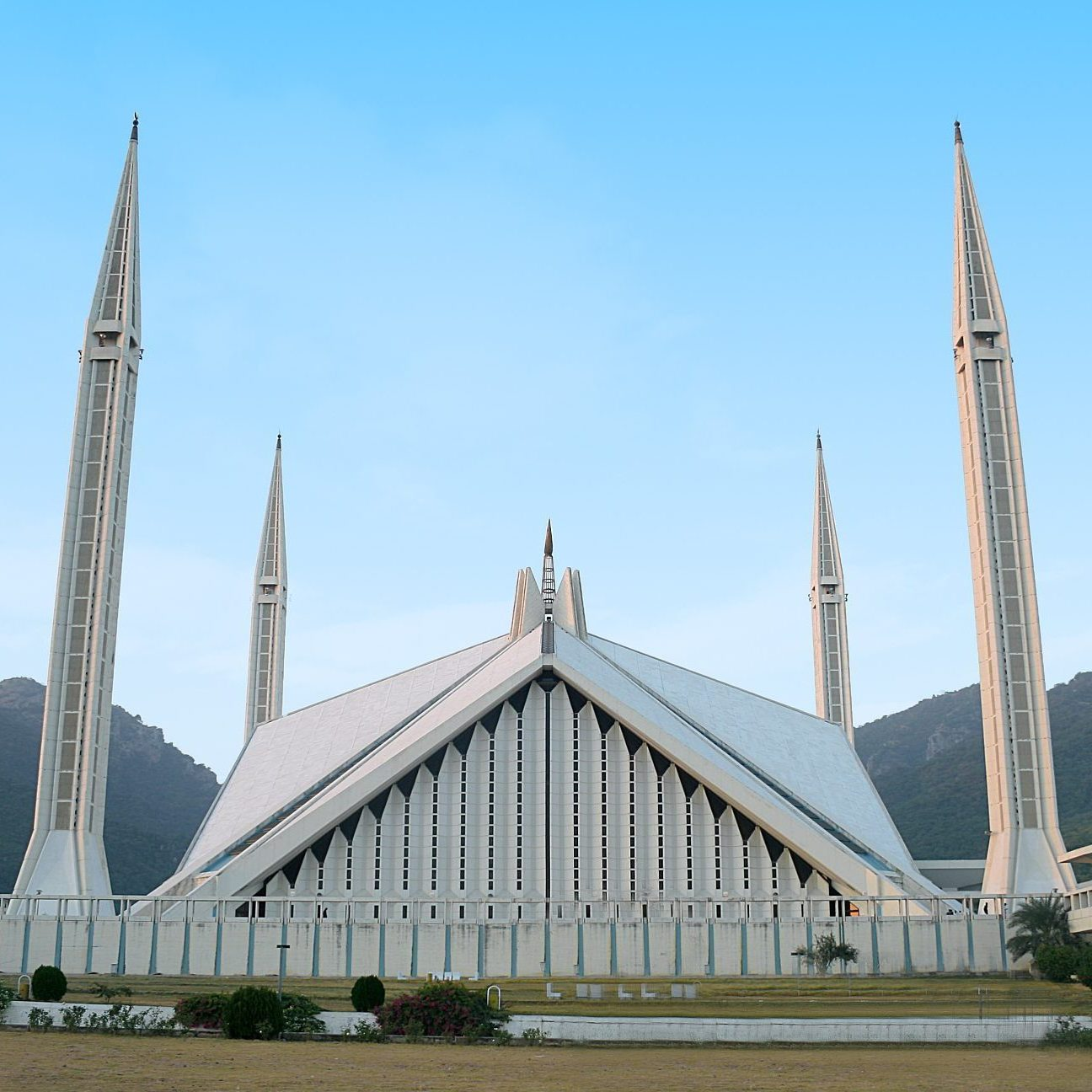 pakej travel pakistan - faisal mosque