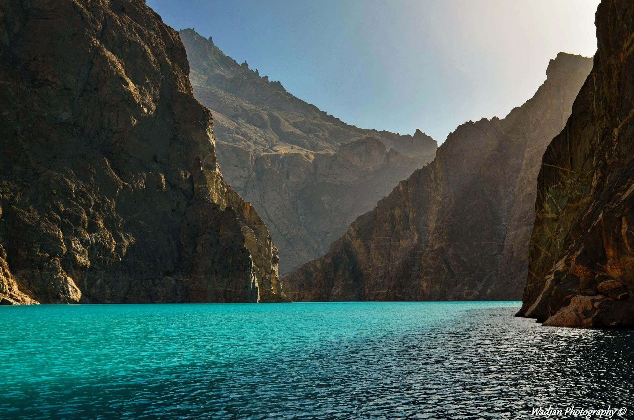 pakej travel pakistan - attabad lake