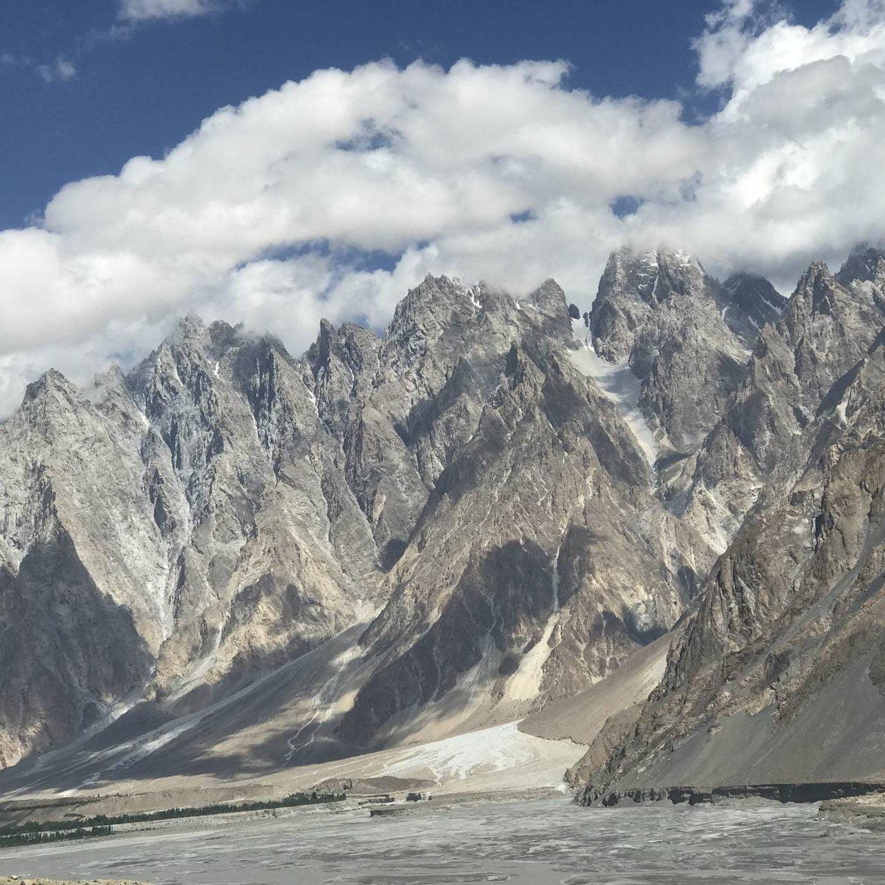 pakej travel pakistan - Passu Cones